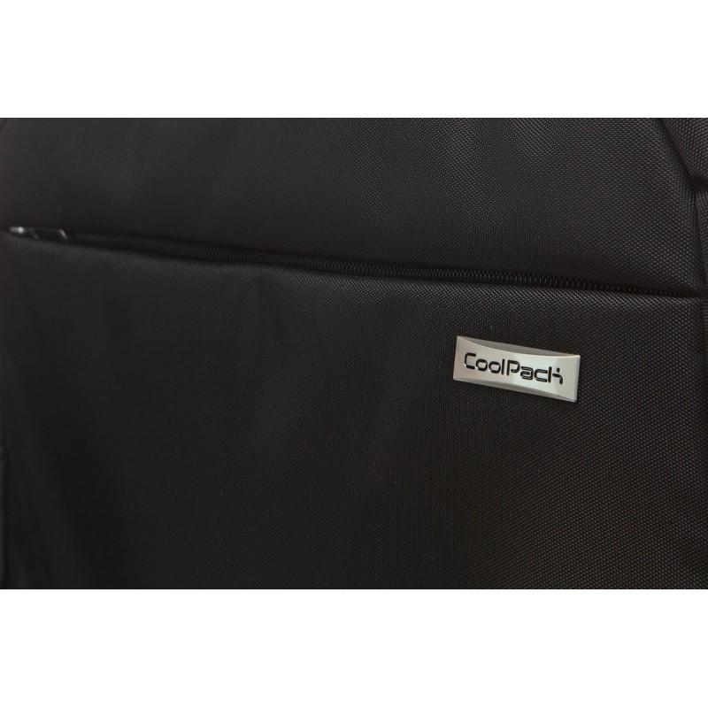 Biznesowa torba na laptop czarna klasyczna damska męska