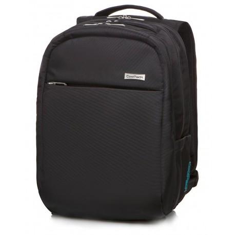 "Plecak męski bagaż podręczny CoolPack RAPTOR BLACK czarny na laptop 15,6"" - Cool-pack.pl"