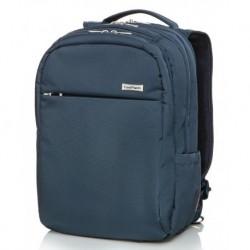 """Męski plecak na laptopa (15,6"""") CoolPack RAPTOR BLUE niebieski na walizkę"""