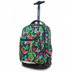 Plecak szkolny na kółkach CoolPack CP SWIFT CANDY JUNGLE tropikalny las