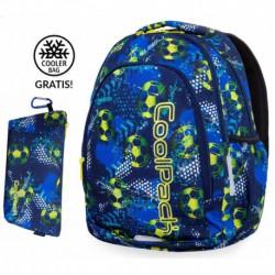 efca598193a52 Plecak szkolny do klas 1-3 CoolPack CP PRIME FOOTBALL BLUE piłka nożna +  GRATIS