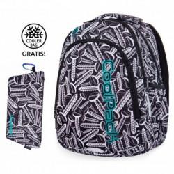 Plecak do klas 1-3 CoolPack CP PRIME SCREWS śruby + GRATIS