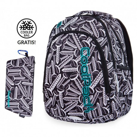 Plecak do klas 1-3 CoolPack CP PRIME SCREWS śruby + GRATIS - Cool-pack.pl