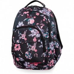 Plecak młodzieżowy CoolPack CP BASIC PLUS DARK ROMANCE czarny w kwiaty