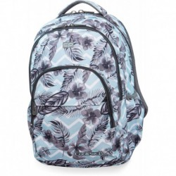 Plecak młodzieżowy CoolPack CP BASIC PLUS SURF PALMS błękitny w liście