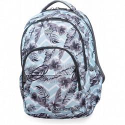 Plecak szkolny CoolPack CP BASIC PLUS SURF PALMS błękitny w liście