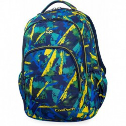 8e510cd1d53cf Plecak szkolny CoolPack CP BASIC PLUS ABSTRACT YELLOW kolorowe plamy