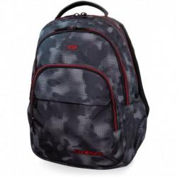 Plecak młodzieżowy CoolPack CP BASIC PLUS MISTY RED szara mgła