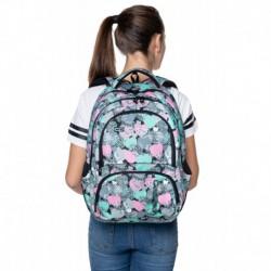 Plecak młodzieżowy CoolPack CP SPINER MINTY HEARTS miętowe serduszka