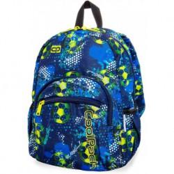 Plecak mały CoolPack CP MINI FOOTBALL BLUE z piłką nożną