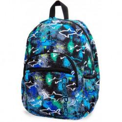 Plecak do przedszkola CoolPack CP MINI SHARKS niebieski z rekinami