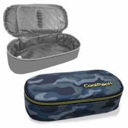 Piórnik usztywniany CoolPack CP CAMPUS MILITARY szare moro camo