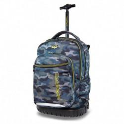 Plecak szkolny na kółkach CoolPack CP SWIFT MILITARY szare moro camo
