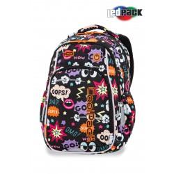 402ffdd3b7381 Plecak do pierwszej klasy świecący CoolPack CP STRIKE S COMICS LEDPACK