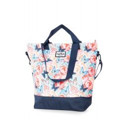 Torba damska shopperka CoolPack CP SOHO BUTTERFLIES róże i motyle BRAK FOTO !!!