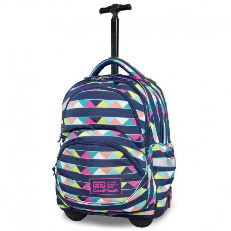 d78bec9cdedf6 Nowy Plecak szkolny na kółkach CoolPack CP STARR CANCUN kolorowe trójkąty