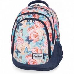 Plecak młodzieżowy CoolPack CP DRAFTER BUTTERFLIES róże i motyle