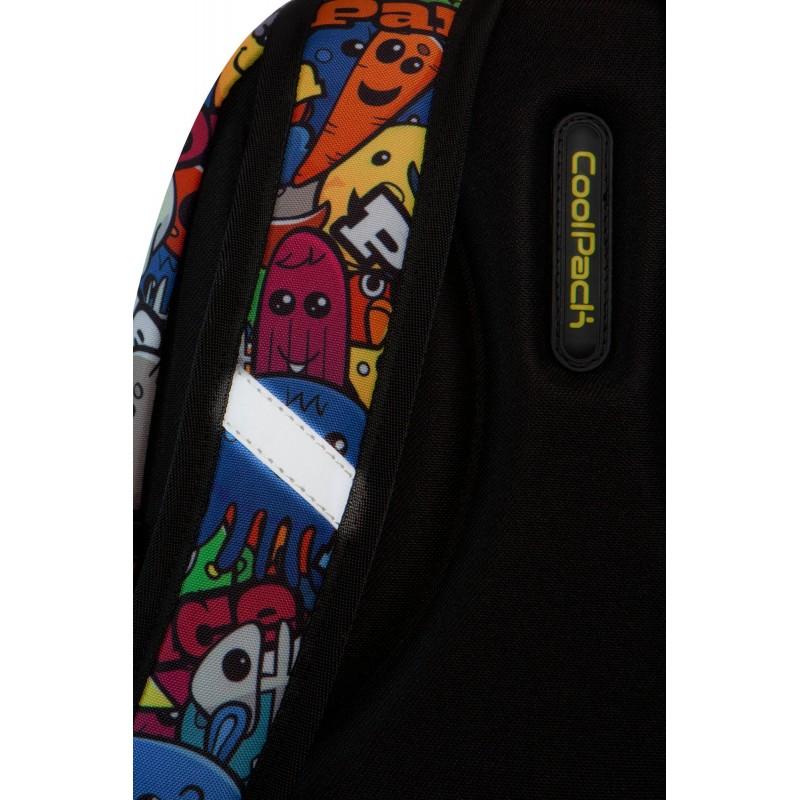 3fc6865fe9676 ... Plecak dla pierwszoklasisty CoolPack CP STRIKE S CARTOON kolorowe  kreskówki