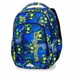 Plecak do 1 klasy CoolPack CP STRIKE S FOOTBALL BLUE z piłką nożną