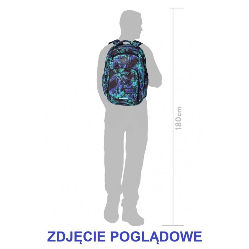 60196de168e5e ... Plecak szkolny COOLPACK CP BREAK WHITE HIBISCUS biały hibiskus kwiaty - port  USB