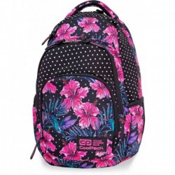Plecak CoolPack kwiaty CP VANCE BLOSSOMS różowy hibiskus kropki