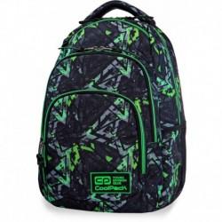 Plecak młodzieżowy CoolPack CP VANCE ELECTRIC GREEN zielone błyskawice