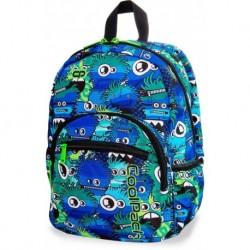 Plecak mały CoolPack CP MINI WIGGLY EYES BLUE niebieskie potworki