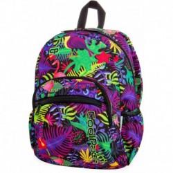 Plecak do przedszkola CoolPack CP MINI JUNGLE flamingi w kolorowej dżungli
