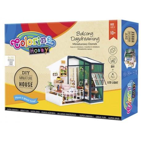 Kreatywny zestaw - domek modelarski COLORINO zrób to sam DIY - Cool-pack.pl