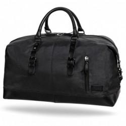 Torba męska podróżna r-bag czarna stylowa Eagle