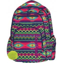 FLASH Plecak do szkoły CoolPack CP - BOHO ELECTRA 29L - A473 + POMPON gratis!