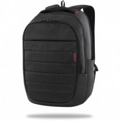 Plecak z kieszenią na laptop Coolpack ICON dla mężczyzn czarny