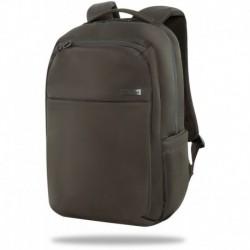 Plecak biznesowy oliwkowy khaki CoolPack BOLT z kieszenią na laptop do pracy i do szkoły unisex