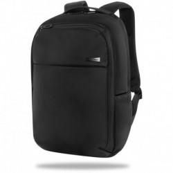 """Plecak biznesowy na laptop 15,6"""" CoolPack BOLT do pracy BOLT CZARNY unisex"""
