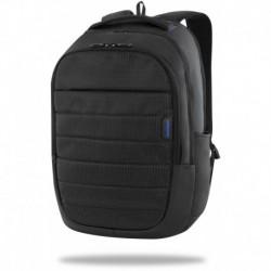 Plecak biznesowy z kieszenią na laptop dla mężczyzn Coolpack ICON w czarnym kolorze