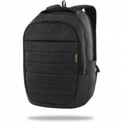 Plecak męski CoolPack z kieszenią na laptop w kolorze czarnym do pracy ICON duży