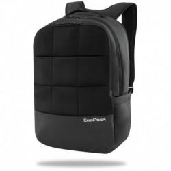 Plecak na laptop CoolPack prestiżowy dla mężczyzn BORDER w kolorze czarnym