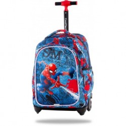 Plecak na kółkach SPIDERMAN szkolny CoolPack CP DISNEY JACK niebieski 24L