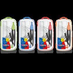 Zestaw geometryczny Colorino 8 elementów BACK TO SCHOOL - mix kolorów