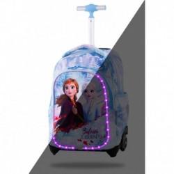 Świecący plecak na kółkach LED FROZEN 2 Kraina Lodu CoolPack CP DISNEY JACK dla dziewczynki