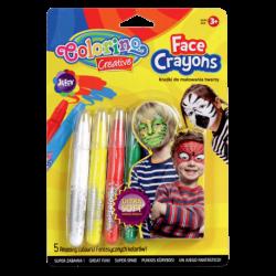 Kredki do malowania twarzy Colorino Creative