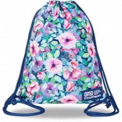 Plecak worek CoolPack PASTEL GARDEN pastelowy kwiatki SOLO L CP