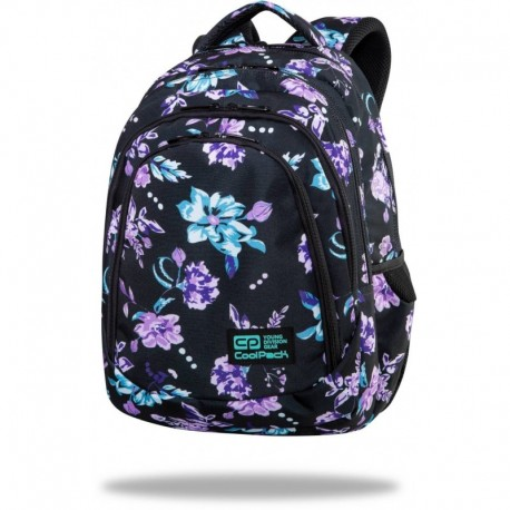 """Plecak w kwiaty CoolPack VIOLET DREAM szkolny DRAFTER CP 17"""" - Cool-pack.pl"""