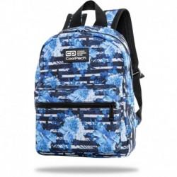 """Plecak w kwiatki CoolPack damski BLUE MARINE niebieski w paski DINKY 12"""""""