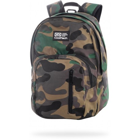 """Plecak moro CoolPack CAMO CLASSIC szkolny DISCOVERY CP 17"""" - Cool-pack.pl"""