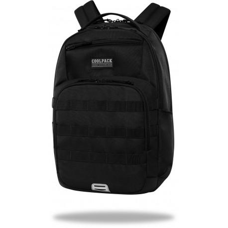 Plecak męski czarny CoolPack BLACK duży ARMY CP - Cool-pack.pl