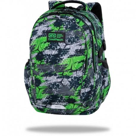 "Plecak dla chlopca CoolPack TRIOGREEN zielony FACTOR CP 17"" - Cool-pack.pl"