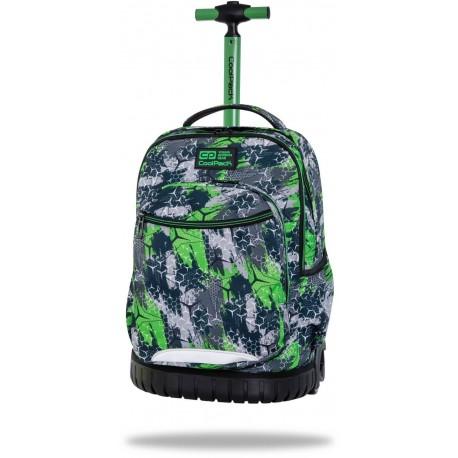 Plecak na kółkach dla chłopca CoolPack TRIOGREEN zielony SWIFT CP - Cool-pack.pl