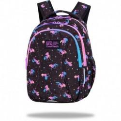 """Plecak dla dziewczynki do pierwszej klasy CoolPack DARK UNICORN jednorożce JOY S CP 15"""""""