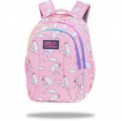 """Plecak szkolny dla dzieci CoolPack z kotem PUSHEEN różowy JOY S 15"""""""